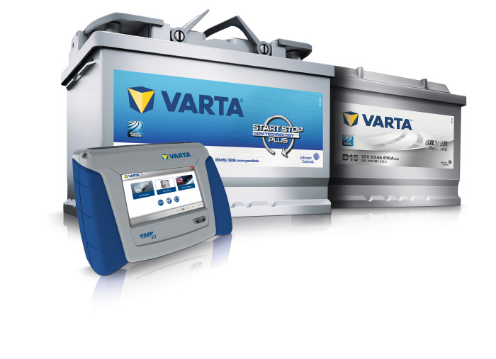 Johnson Controls introduces the next generation of the VARTA? Start-Stop Service Program (VSSP 2.1)